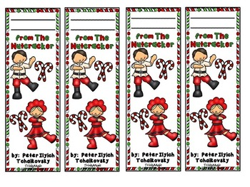 Russian Dance (from The Nutcracker) Bookmarks