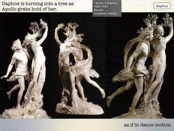 ART + MYTH + LITERATURE = Show + Test - 312 Slides Art History