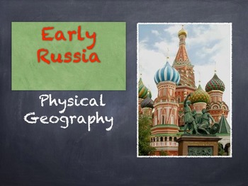 Russian Geography PowerPoint and Activity