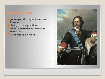 Russian History PowerPoint