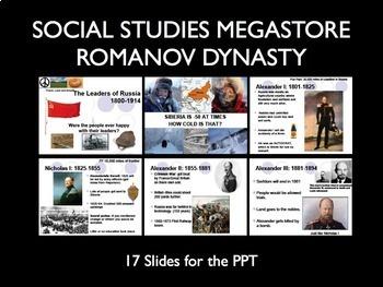 Russian History Romanov Dynasty PPT