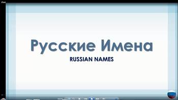 Russian Language Video Tutorial - Russian Names