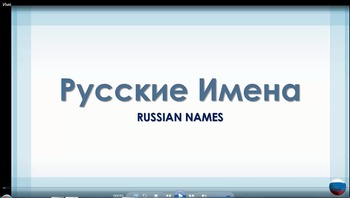 Russian Language Video Tutorial - Russian Names