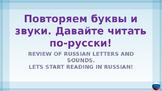 Russian Language PowerPoint Tutorial - Practice reading Ru
