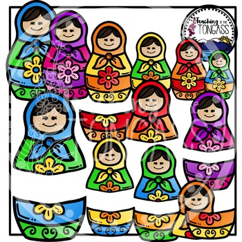 Russian Nesting Doll Clipart