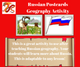 Russian Postcards Geography Activity