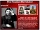 Russian Revolution - 4 causes, 4 figures, 4 events, 4 effects (23-slide PPT)