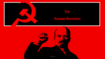 Russian Revolution (Animal Farm by George Orwell (3) )