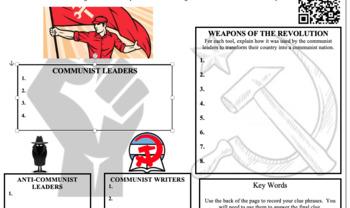 Communist Revolutions Digital Break Out DBQ Activity