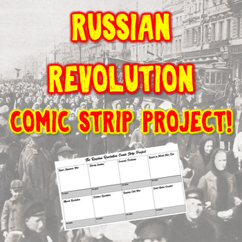 Russian Revolution Comic Strip Project