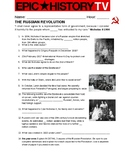 Russian Revolution Epic History TV video guide