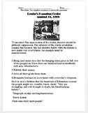 Russian Revolution: Lenin's Hanging Order Primary Source Worksheet
