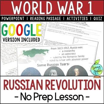 Russian Revolution, World War 1, World War I, WW1, WWI