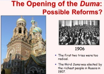 Russian Revolution PPT and Word Doc Companion