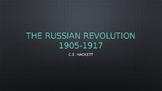 AP EURO / AICE EURO Russian Revolution PowerPoint