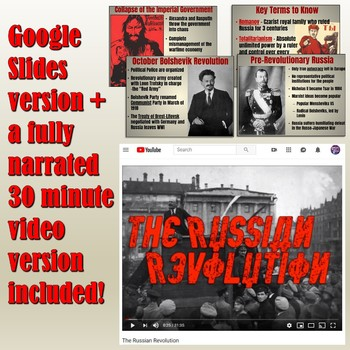 Russian Revolution PowerPoint Lesson