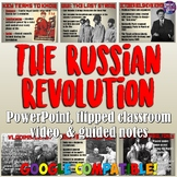 Russian Revolution PowerPoint & Flipped Classroom Lesson