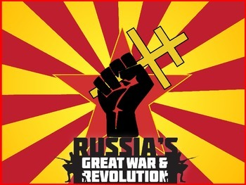 Russian Revolution PowerPoint Test/Review Questions with a