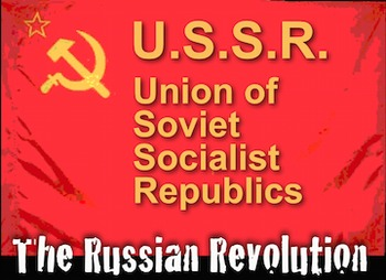 Russian Revolution PowerPoint with Lecture Notes & Short V
