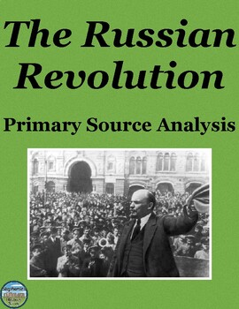 Russian Revolution Primary Source Analysis