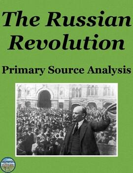 Russian Revolution Primary Source Analysis