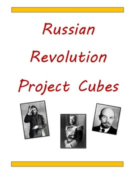 Russian Revolution Project Cubes