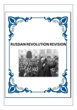Russian Revolution Revision Questions