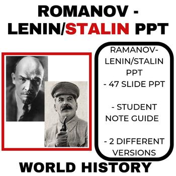 Russian Revolution: Romanov- Lenin and Stalin PPT