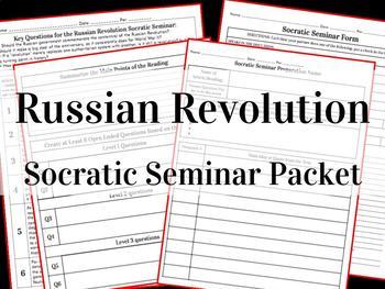 Russian Revolution Socratic Seminar Packet