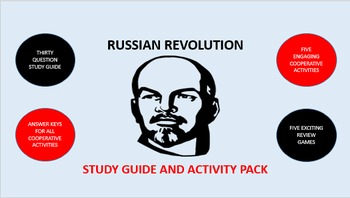 Russian Revolution: Study Guide and Activity Pack