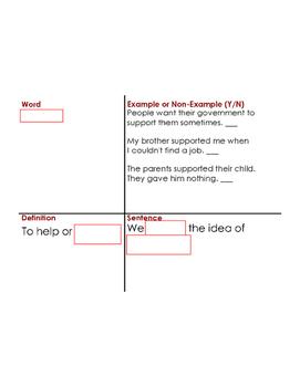 Russian Revolution Vocabulary Builder Part 1
