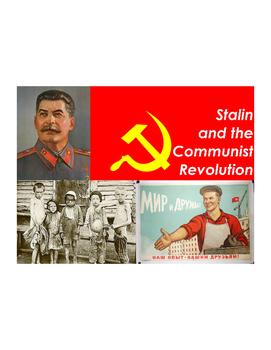Russian Revolution Vocabulary Builder Part 2