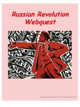 Russian Revolution WebQuest