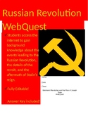 Russian Revolution WebQuest