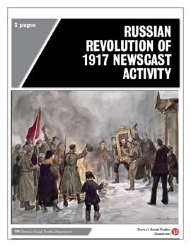 Russian Revolution of 1917 Newscast Activity