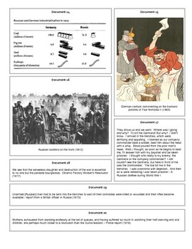 Russian Revolutions: 1917-1939 (Document Packet)