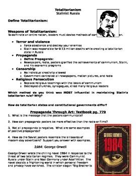 Russian Totalitarianism