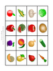 "Lesson 9 Russian Vocabulary Bingo Game ""Fruits and Veggies"""