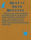 Rustic Academic Posters