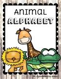 Rustic Animal Alphabet Classroom Poster Set