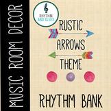 Rustic Arrows Music Room Theme - Rhythm Bank, Rhythm and Glues