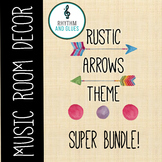 Rustic Arrows Music Room Theme - Super Bundle, Rhythm and Glues
