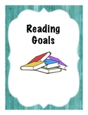 Rustic Binder Cover Reading, Writing and Math Goals