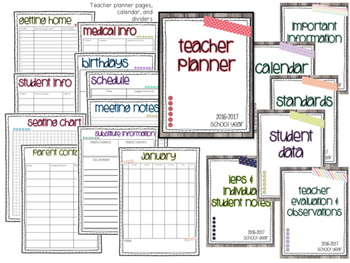Rustic Brights Classroom-Theme Bundle