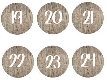 Rustic Calendar Pack