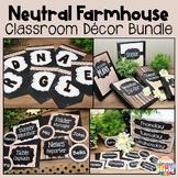 Farmhouse Chalkboard Classroom Decor Bundle