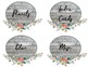 Rustic Charm Large Supply Labels
