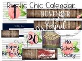 Rustic Chic Calendar
