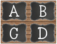 Rustic Chic & Chalkboard Guided Reading Level Library Labels