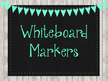 Rustic Chic Editable Classroom Labels